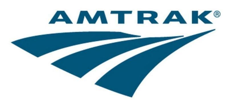 Amtrak Train From HUD  To AMS